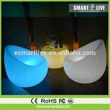 led glowing sofa bar furniture flash chair for night club