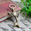 love engraved key pendant couple necklace Jewelry hardware accessories