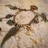 vintage heart fashion key silver key bracelets Jewelry hardware accessories