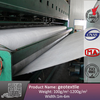 non woven polypropylene geotextile new material in construction