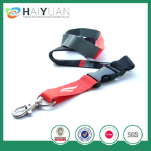 cheapest sublimation lanyard with safety clip