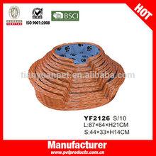 Dog supplier for rattan dog bed