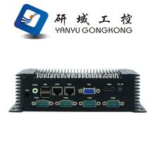 X86 Embedded Fanless Mini Box PC / Fanless Barebone system