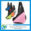Long shoulder strap triangle bag school backpack for teens promotion