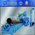 Superficie de la tubería de la máquina de granallado/qingdao de voladura de arena línea de equipos