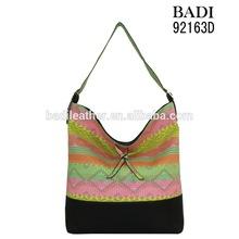 handbag fittings knitted handbag fashion shoulder bag wholesale