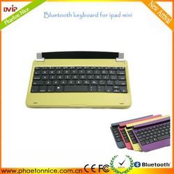 Top sale mini bluetooth keyboard case for ipad mini