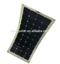 High Efficiency Sunpower Semi Flexible Solar Panel