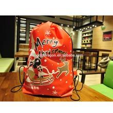 2015 Alibaba Running Promotional Personalized Padded Drawstring Bag