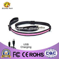 led usb rechargeable dog leash dog products