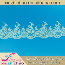 2791(0.7)10cm polyester ivory lace baju kurung