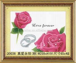 YIWU KAINA NEW DESIGN DIY3d ROSE DIAMOND PAINTING HANDMADE FASHION BEAUTIFUL DIAMOND PAINTING