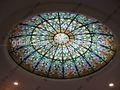 Europeu de vidro manchado de teto teto solar, vidro da clarabóia do telhado para a casa