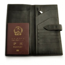 fashion passport case for men
