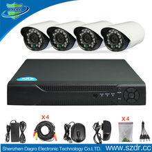 Factory Direct H.264 4CH DVR Combo DIY CCTV Camera Kit-DR04,dvr kit/cctv camera system