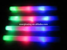 """led lighted 19"""" foam sticks hot sell 2015"""