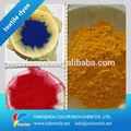 Di alta qualità a caldo la vendita diretta giallo 27 100% per naturale tintura della seta