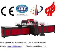 Barra de cobre hidráulica de perforación de corte de flexión de la máquina