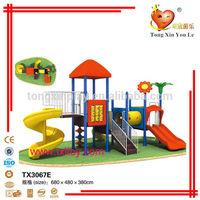 TX3067E cheap preschool children plastic slide