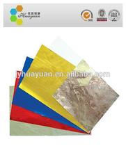 Printed aluminum foil sheet aluminium foil paper