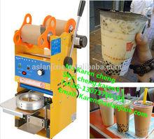 manual plastic cup sealing machine/plastic cup sealing machine