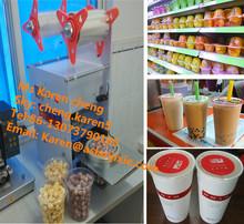 plastic cup sealer/plastic sealing machine