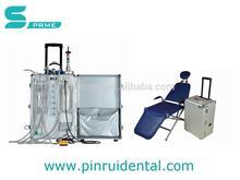 Portable dental unit treatment instrument portable dental unit with scaler