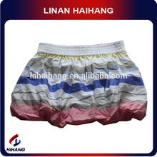 high quality wholesale strip woven hot girls in short skirt manufacturer