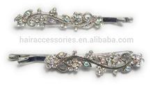 Claro moda bobby pins- cristal cabelo bobby pinos para as mulheres