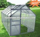sell best aluminium garden greenhouse