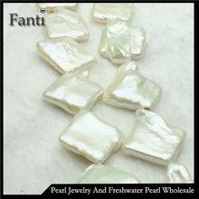 Natural square shape pearl FD23
