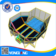 China trampoline with safety net