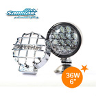 New Epistar 36w 6INCH led round work light,motorcycle round headlight universal,spot/flood 9-32v driving headlight SM3006R