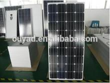 Hot sell high efficiency 150W mono solar panel