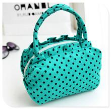 Fashion canvas tote bag flower lady handbag with varies style