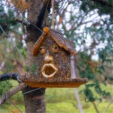 factory custom wholesale decorative resin bird house
