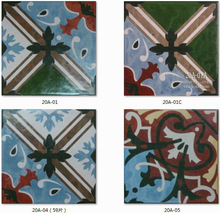 200x200mm Floor and Wall Hand Painted Decorative tiles