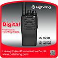 Numérique analogique portable ls-h760 uhf. dmr de communication numérique