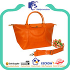2014 Wellpromotion branded design pvc leather handbag