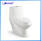 white color washdown one-piece s-trap wc toilet luxury
