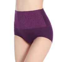 Excellent Boxer Women high waist ladies Cotton underwear Top Grade underwear for fat women