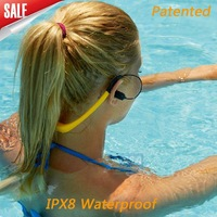 Professional waterproof digital swimming music player for water sports