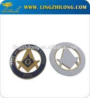Auto Emblems, Promotional Car Badge Masonic Car Emblem