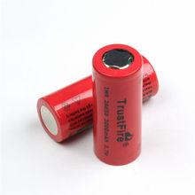 3.7v 3000mah imr26650 batteria al litio ricaricabile