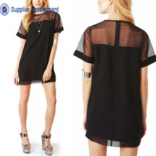 2014 Summer Printed Half Sleeves Stylish Top Girls Latest Designers Images Of Ladies Casual Tops New Fashion