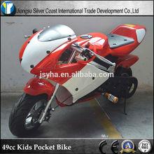CE 49cc Two Wheel Kids Pocket Bike 49cc Gas Motorcycles