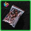 Yiwu China ldpe customized clear plastic bags zip lock food grade