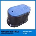 Medidor de agua de plástico caja de protección