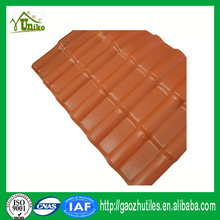 organic roofing materials light weight plastic synthetic resin tile