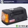 12v air compressor car tyre inflator with lights 19mm cylinder